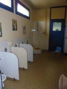 Toilettes des maternelles